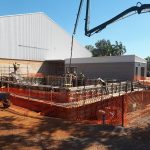 DEB Berrimah Swimming Pool 9 — Concreting in Marlow Lagoon, NT