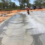 Acacia Fire Station Cemented — Concreting in Marlow Lagoon, NT
