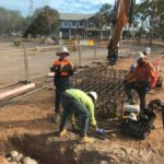 Joint Health Facility Larrakeyah Barracks — Concreting in Marlow Lagoon, NT